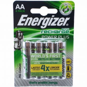 Energizer AA 2000mAh 1.2V NiMH Rechargeable Batteries